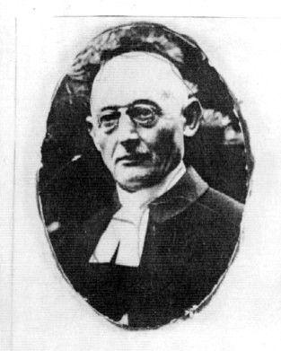 Pastor Ernst Backe