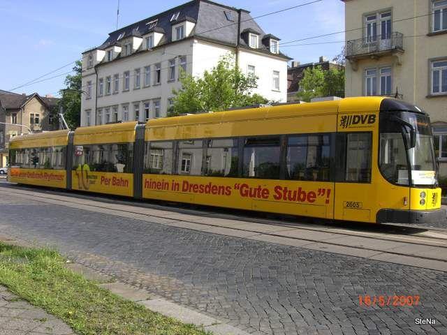 Gottleubaer Strasse (16.05.2007) © nahverkehr-dresden.de