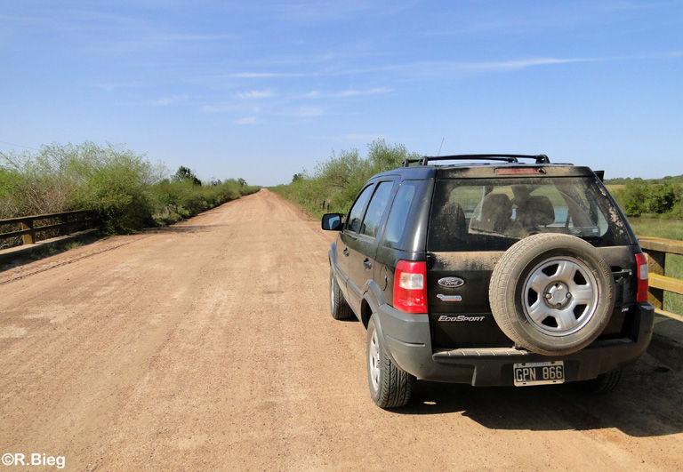 Unterwegs auf der R5 nach San Miguel