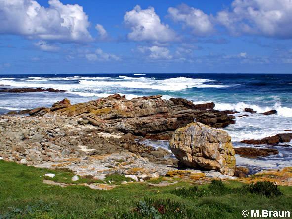Die Landschaft am Kap