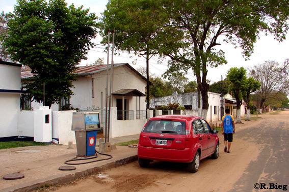 Dorfidylle in dem Ibera Gebiet