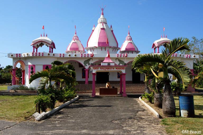 Der Hindutempel Shiv Kalyanath Mandir