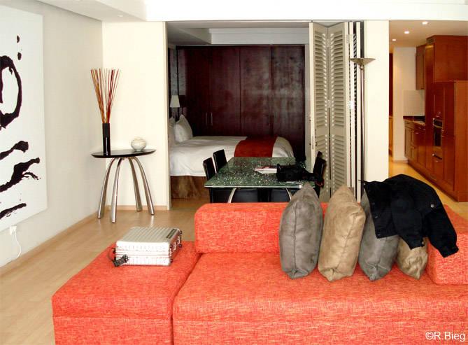 Die Zimmer im Protea North Wharf