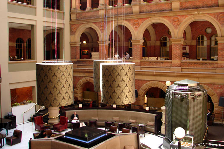 Hotelhalle des InterContinental in Sydney