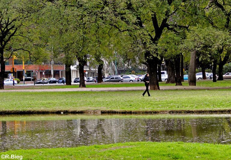 Park im Stadtteil Palermo