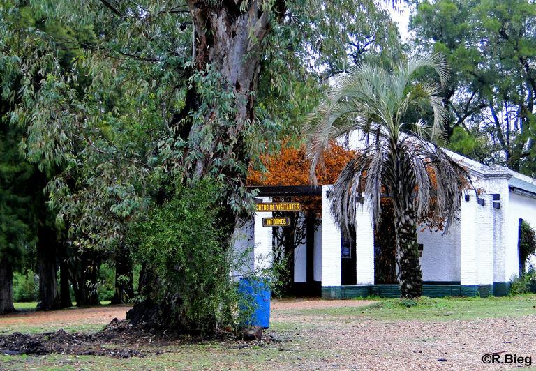 Das Informationszentrum im El Palmar Nationalpark