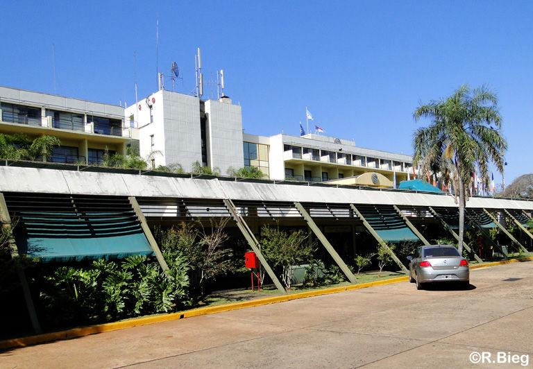 Das Sheraton Hotel im Nationalpark