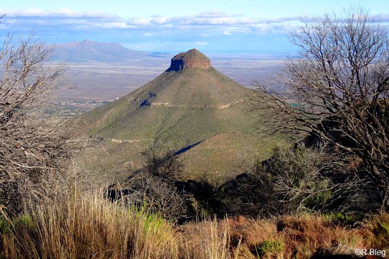 Blick vom unteren Aussichtspunkt ins Tal