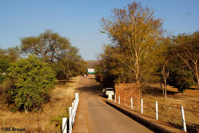 Einfahrt zum Loskop Dam Nature Rreserve