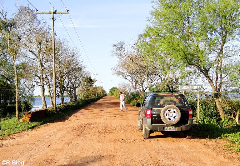Ankunft an der Laguna Iberá