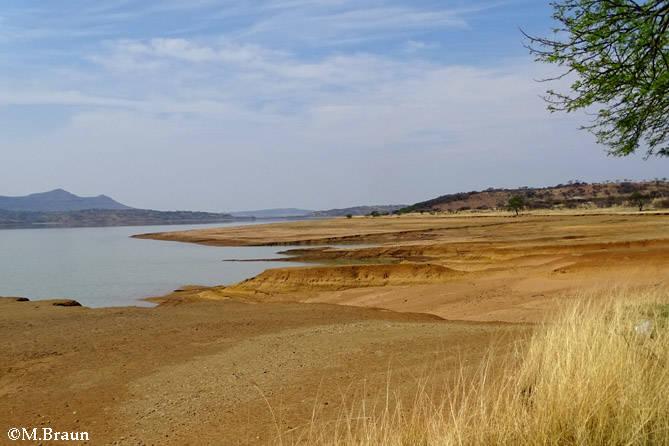 Landschaft am Spioenkop Dam