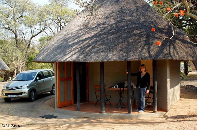 Der kleine Bungalow in Pretoriuskop