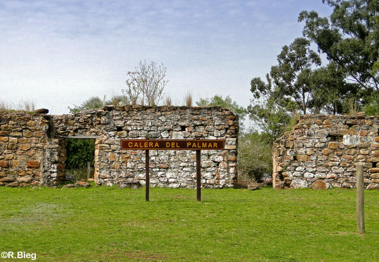 Historische Ruinen einer Jesuitenansiedlung