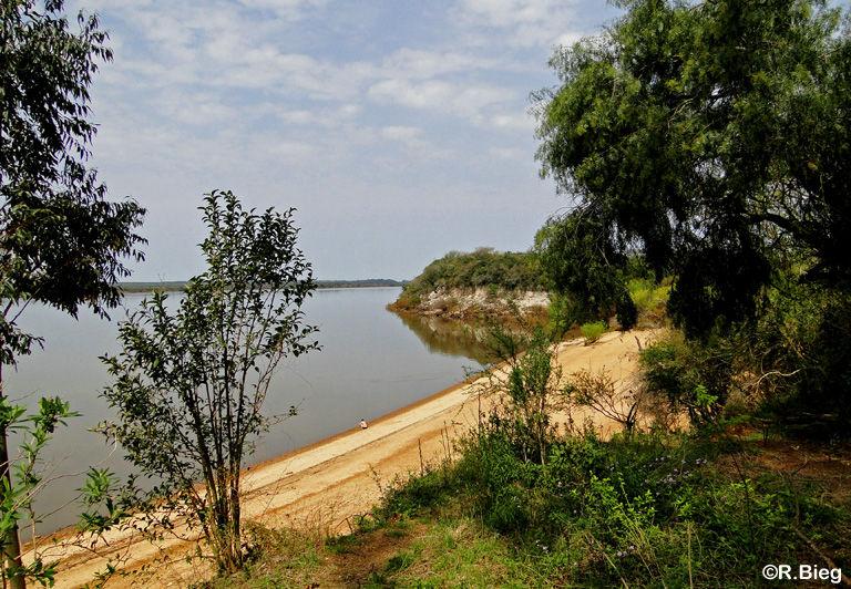 Der Rio Uruguay - im Sommer ein beliebter Badeort