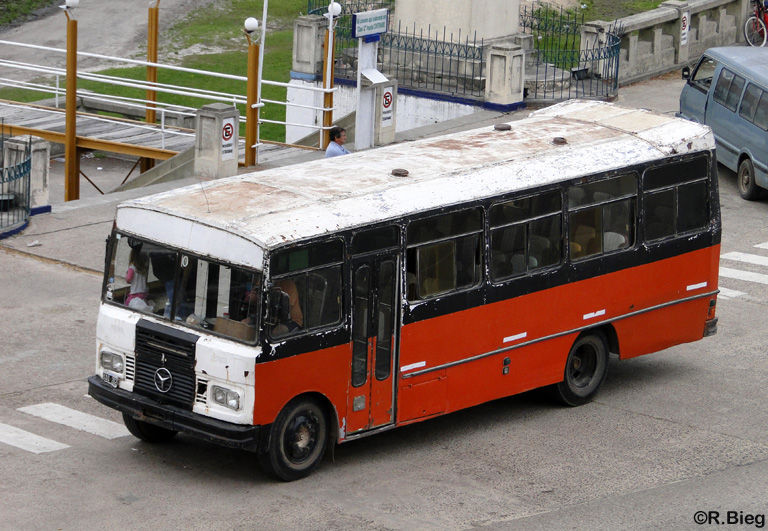 Ein Linienbus, noch immer im Dienst