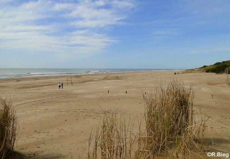 Der Strand vor unserer Tür