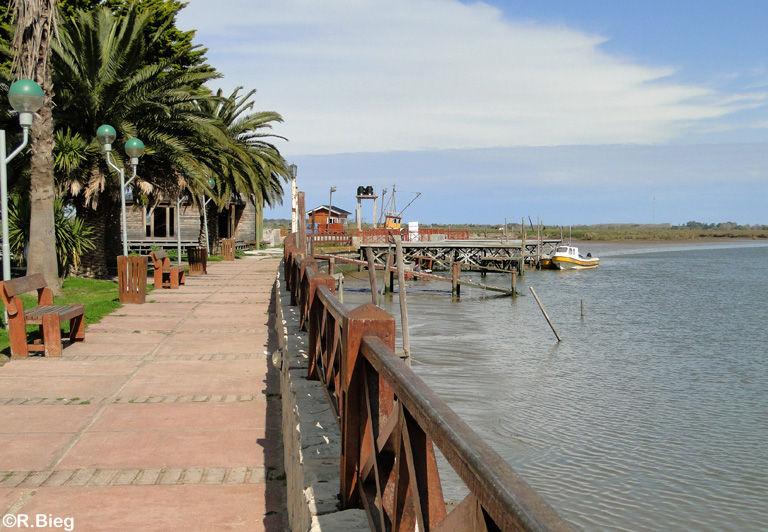 Die kleine Promenade am Fischerhafen