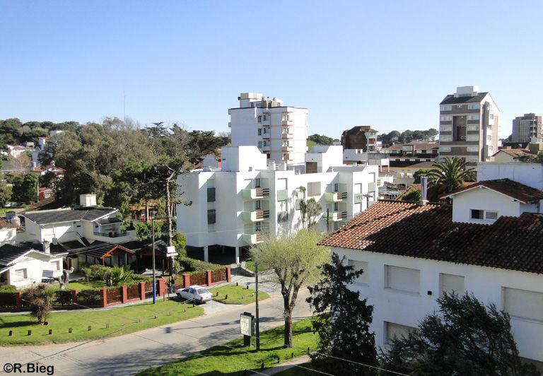 Blick auf Villa Gesell