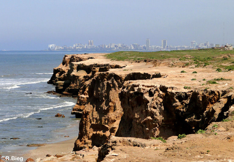 Blick auf Mar del Plata