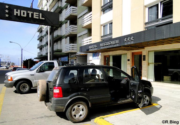 In Necochea hatten wir Mühe ein geöffnetes Hotel zu finden