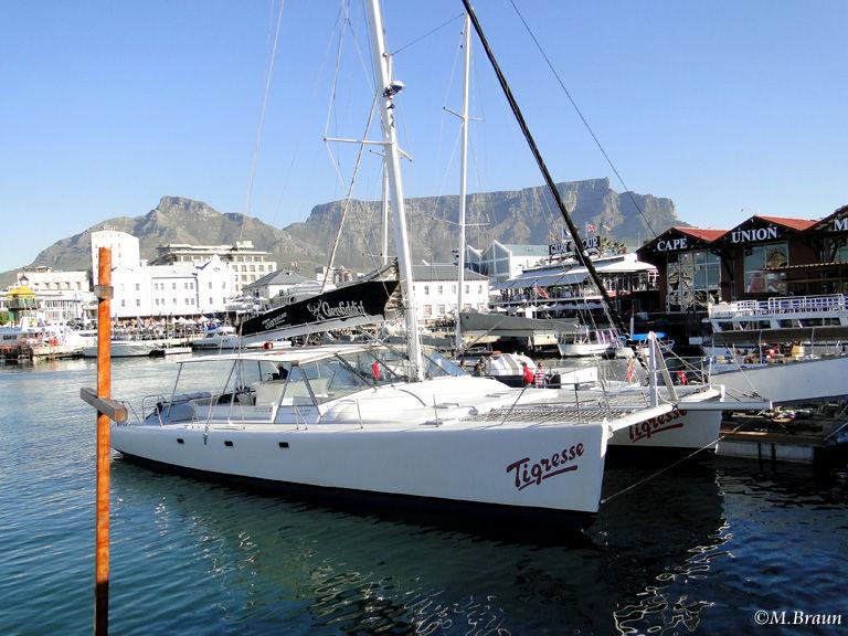 Hier starten Touren nach Robben Island und zum Whalewatching