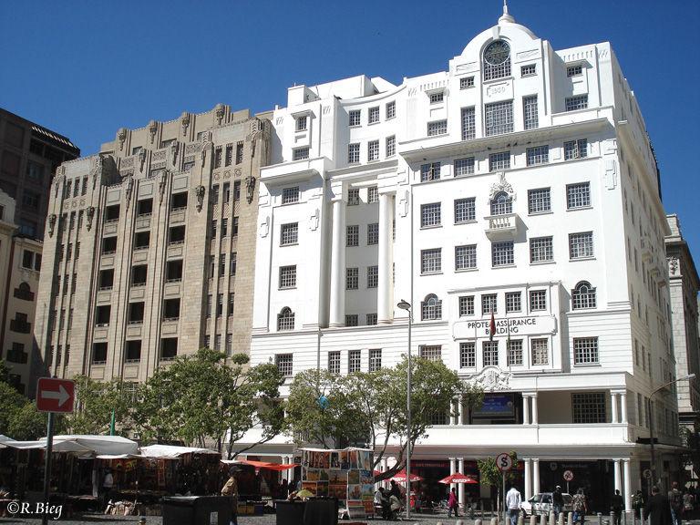 In der Innenstadt findet man noch viele alte und schöne Fassaden
