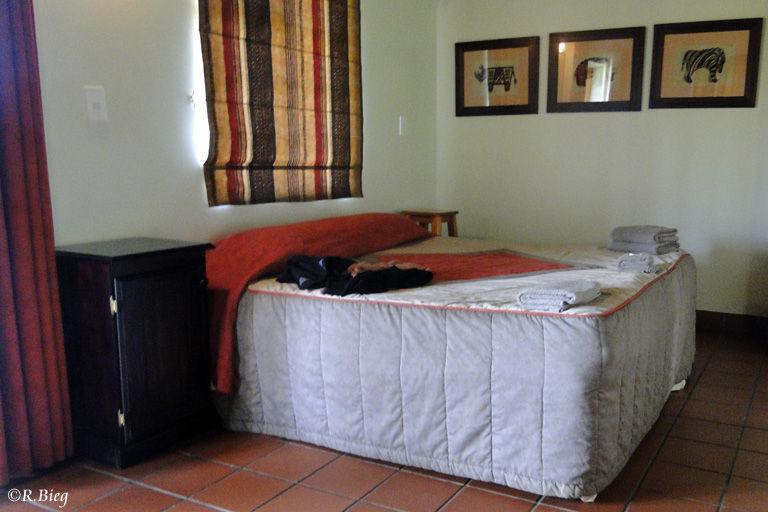 Das Zimmer im Restcamp