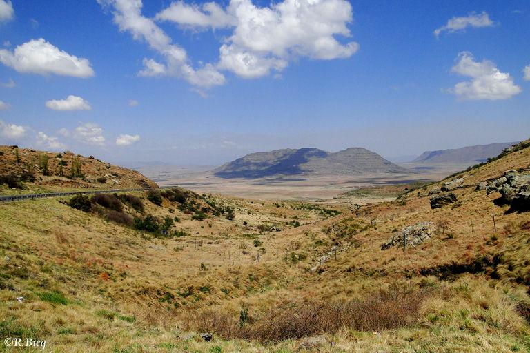 Unterwegs nach Bloemfontein