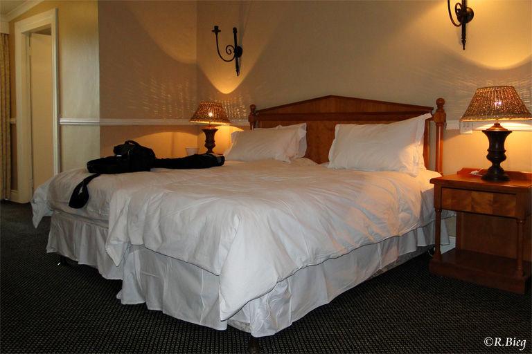 Unser Zimmer in dem Hotel Mont-aux-Sources