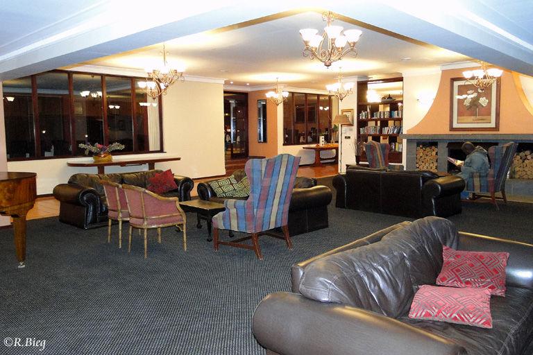 Das Hotel Mont-aux-Sources nahe des Royal Natal Nationalparks