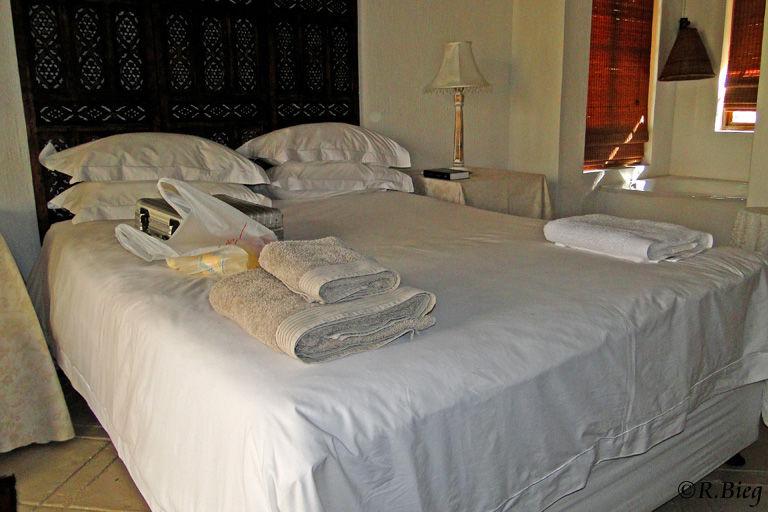 Unser Zimmer in der Maqueda Lodge
