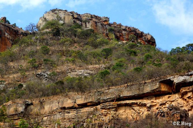 Felsenlandschaft in Ithala