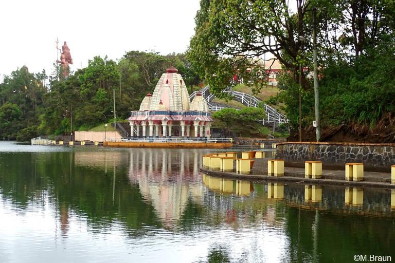 Tempel am Grand Bassin