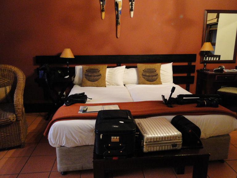 Unser Zimmer in der Pestana Kruger Lodge, direkt am Malelane Gate