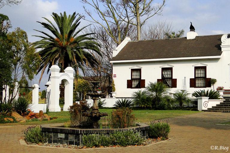 Die Welgekozen Country Lodge in einem schönen alten Gebäude