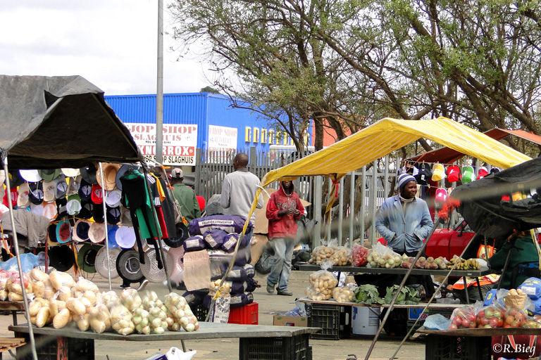 Die Freitagsmärkte in den Städten der Transkei legten den Verkehr oft lahm