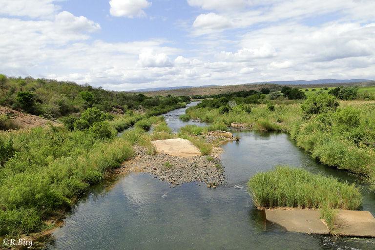 Blick auf den Pongola Fluß