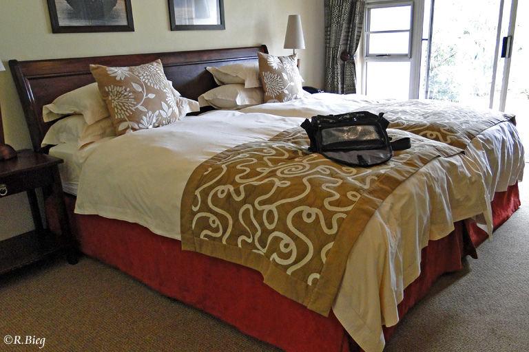 Unser Zimmer im Gost Mountain Inn