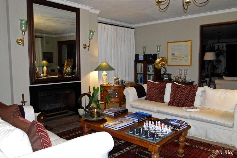 Die Lounge im Wilderness Manor