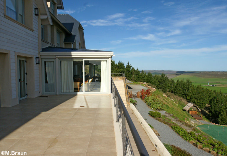 Blick von der Hotel-Terrasse