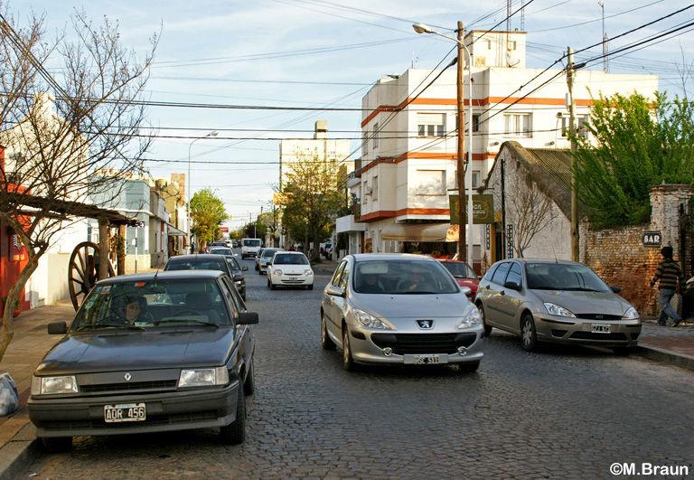 In den Straßen von Tandil
