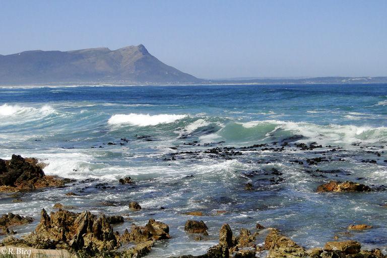 Die Küste von Kleinmond