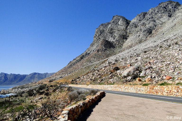 Auf der R44 entlang der Küste zurück nach Kapstadt