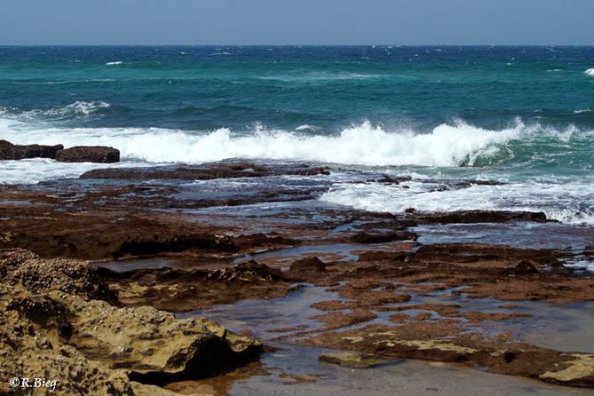 Küste in Richtung Cape Vidal