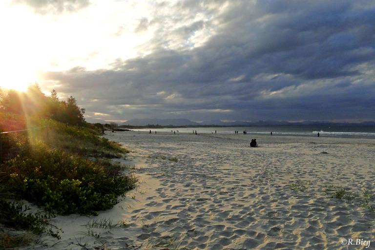Früh am Morgen in Byron Bay