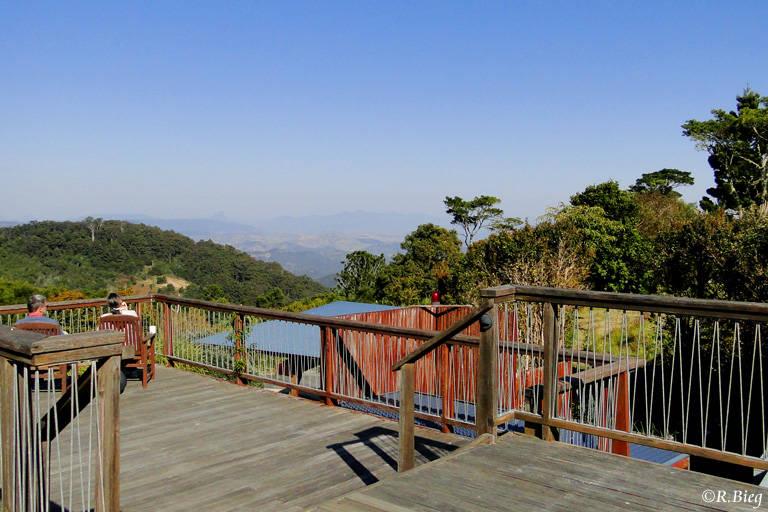 Aussichtsplattform der Lodge