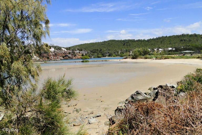 Küstenlandschaft bei Wooli im Yuraguir NP
