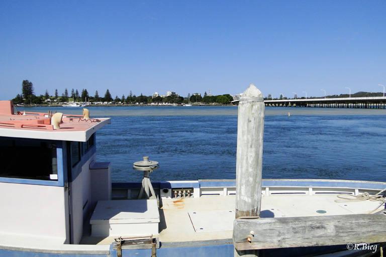 Tourist Drive nach Tuncurry und Foster - Blick auf Tuncurry