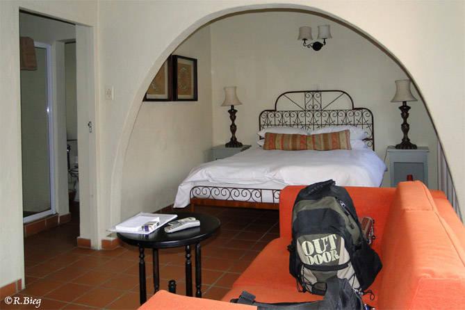 Unser Zimmer im Hotel Casa do Sol