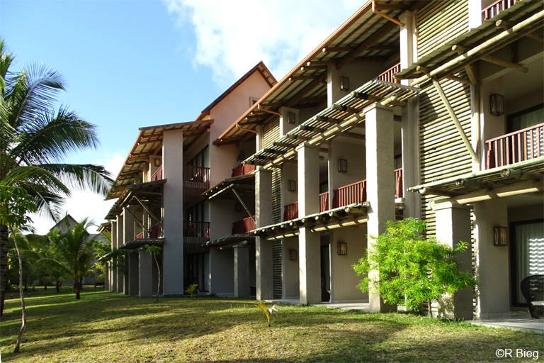 Die Unterkünfte des Maritim Hotels